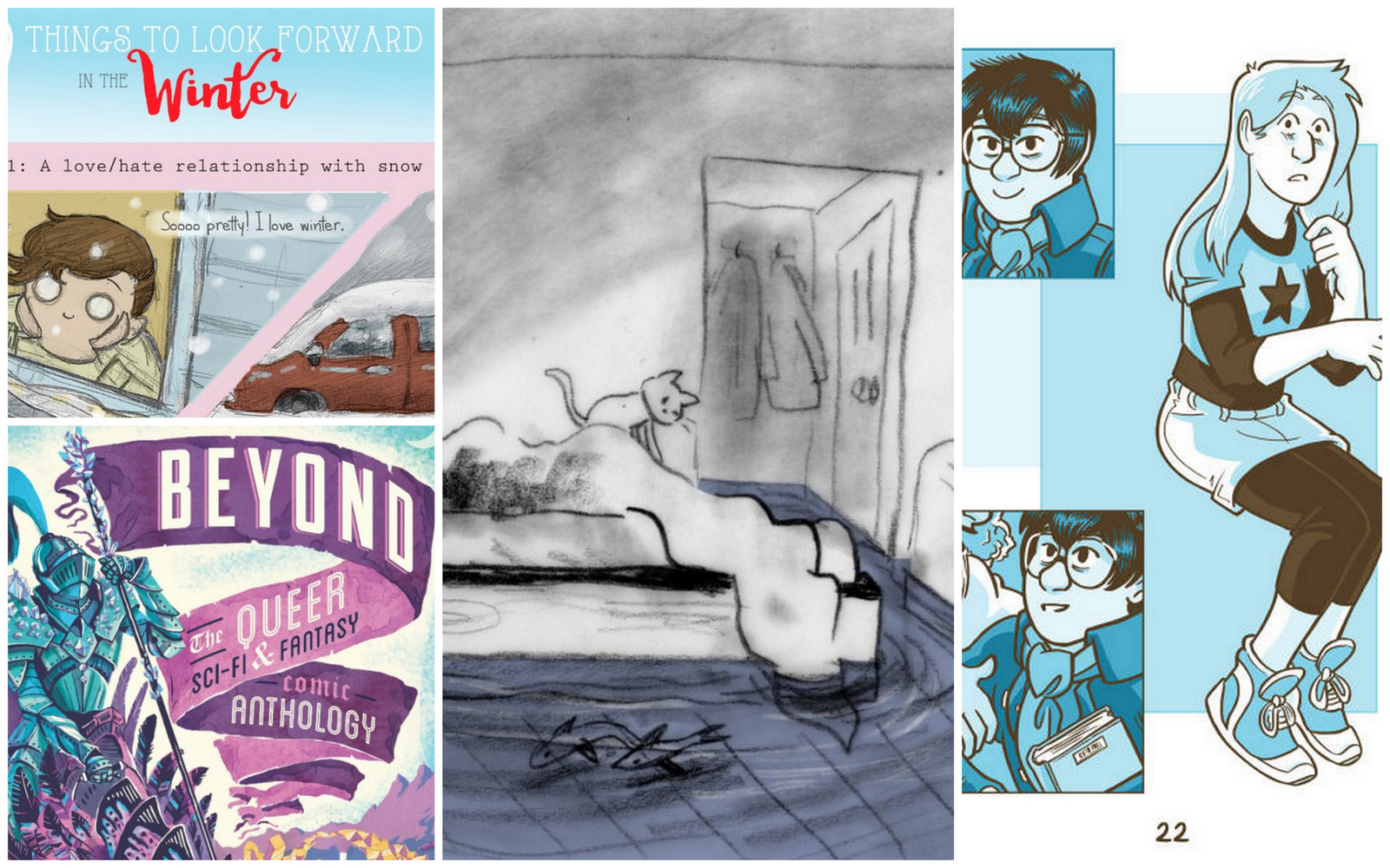 Drawn to Comics: 28 Queer Women and Non-Binary Comics ...