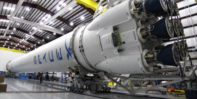Falcon-9-Rocket-in-the-Hangar
