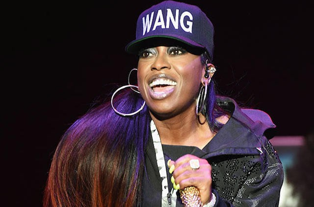 NEW YORK, NY - OCTOBER 16: Musician Missy Elliott performs onstage at the Alexander Wang X H&M Launch on October 16, 2014 in New York City. (Photo by Andrew H. Walker/Getty Images for H&M) *** Local Caption *** Missy Elliott
