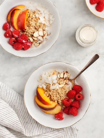 16. Cinnamon Quinoa Breakfast Bowl