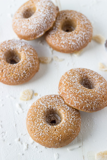coconut-ginger-baked-donuts