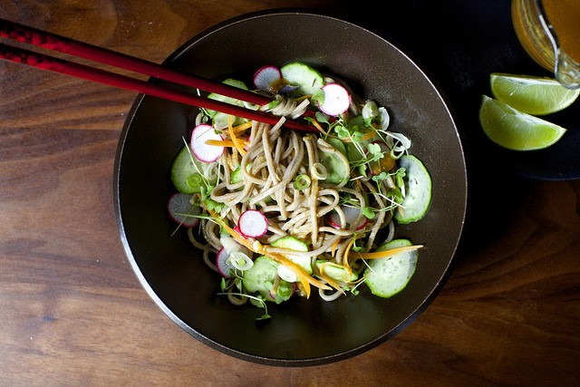 Ginger-Lime Tuna With Buckwheat (Soba) Noodles Recipes — Dishmaps