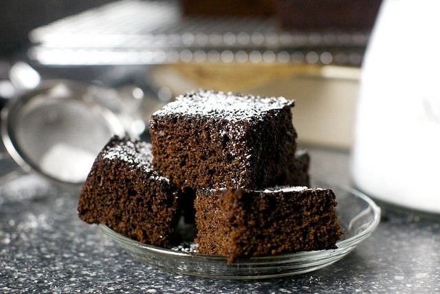 38. Gingerbread Snacking Cake
