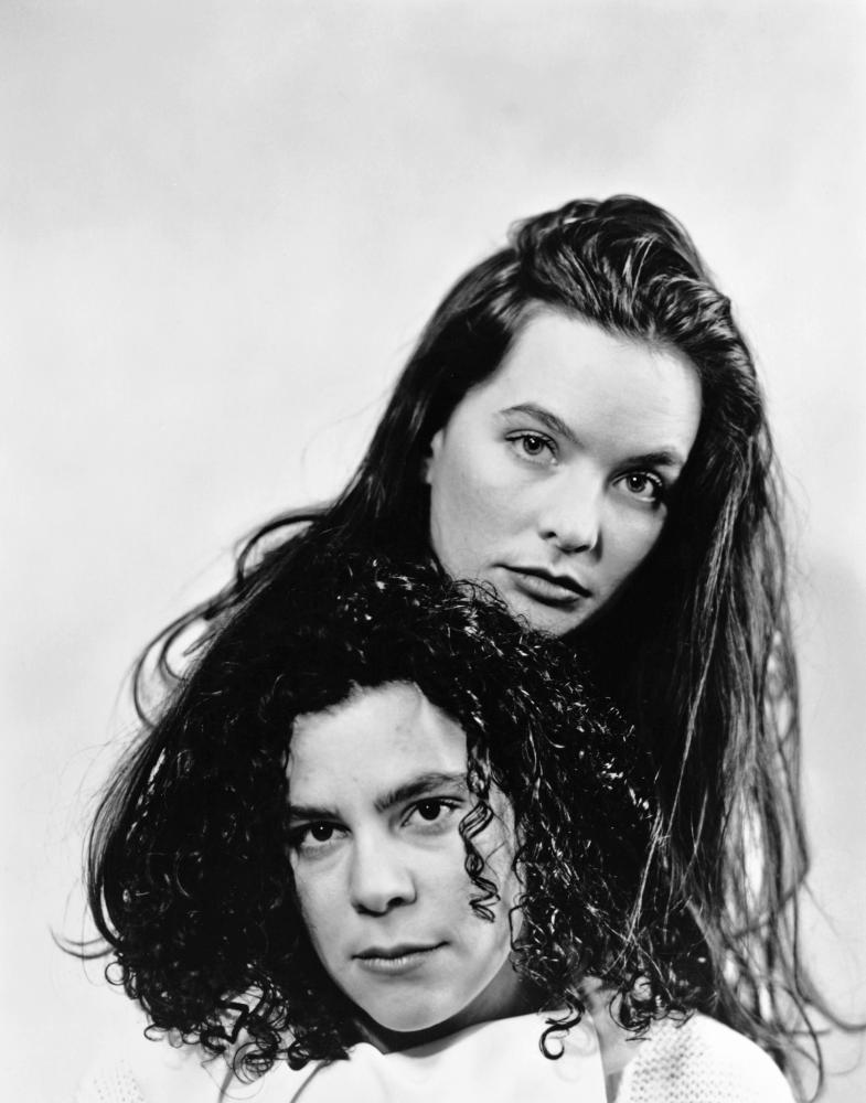 GO FISH, director Rose Troche, Guinevere Turner on set, 1994, (c) Samuel Goldwyn