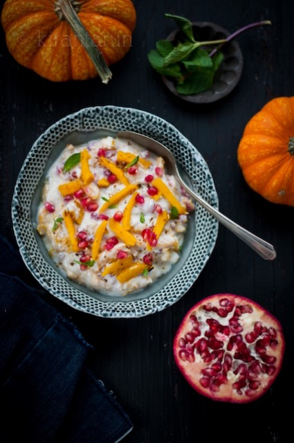 pumpkin-pomegranate-raita