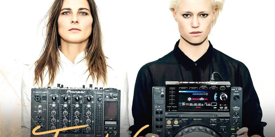 Promo Image of DJ Gunn & Daniela Sea for a 2016 Henrietta Hudson party