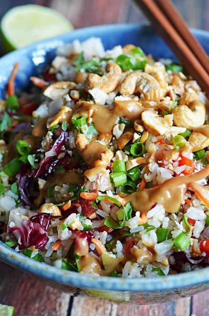 thai-cashew-coconut-rice-ginger-peanut-sauce