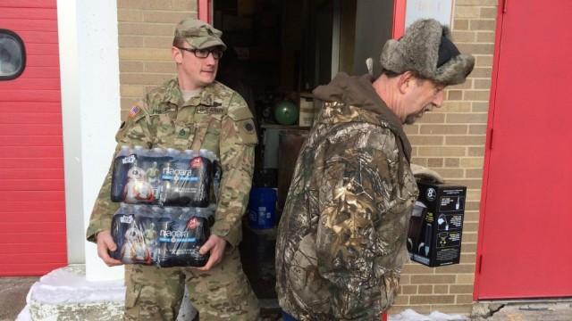 National Guard in Flint (WEYI/Mike Horne)