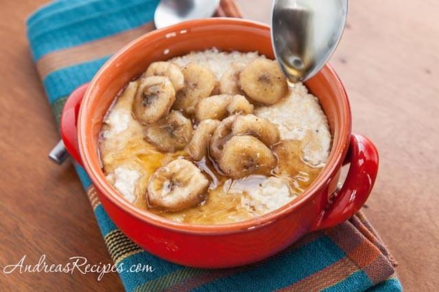 Banana Maple Grits