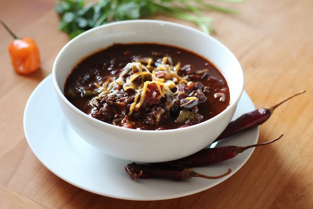 Chipotle Chili with Venison and Cactus (1)