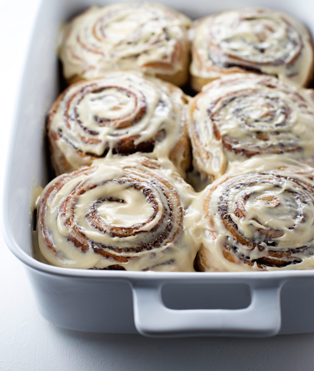 10. Coffee Cinnamon Rolls with Coffee Cream Cheese Frosting