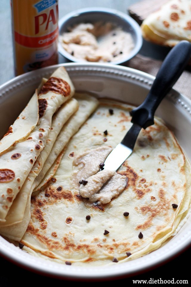 Crepes with Coffee Mascarpone