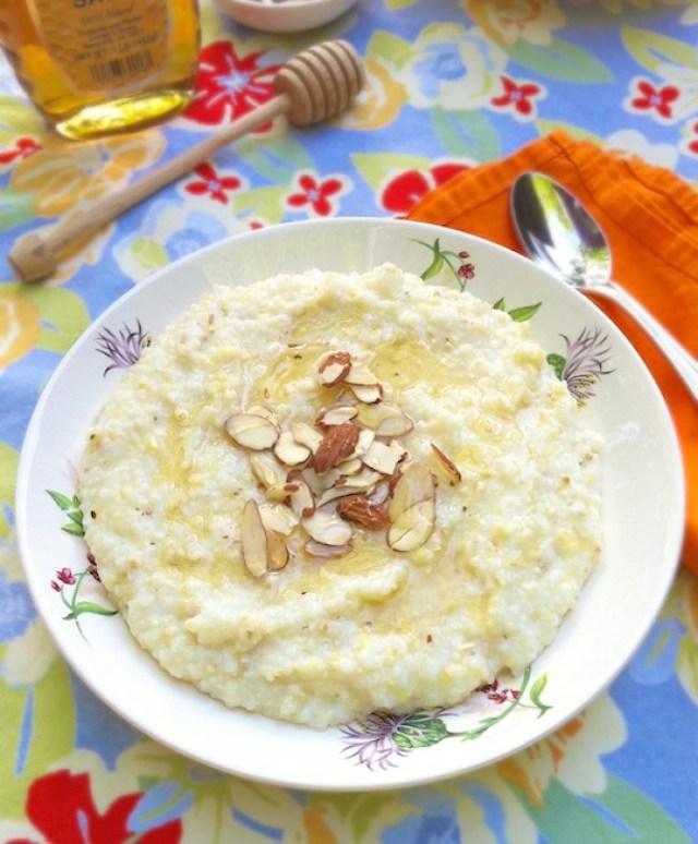 Honey Nut Breakfast Grits