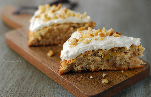 Low Sugar Banana Nut Scones