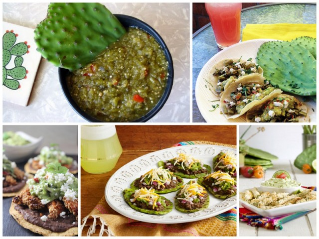 cactus recipes nopales
