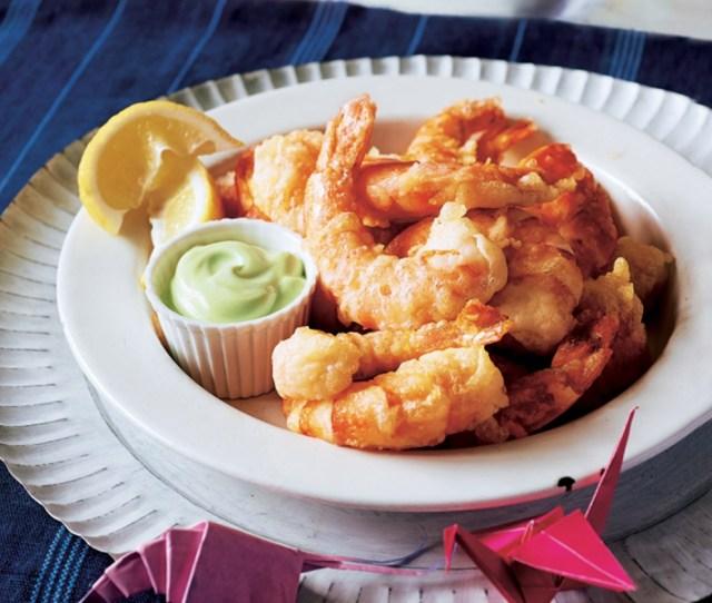 Masterclass tempura prawns