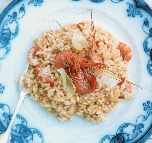 Risotto of Celtic Crab and Cardigan Bay Prawns