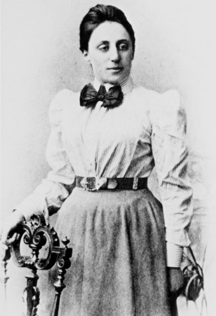 Emmy Noether (1882 -1935). Photo via New York Times, SPL/Photo Researchers.