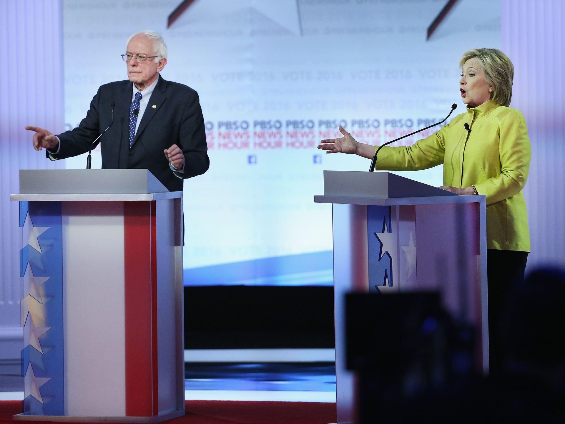 demdebate_Win McNamee, Getty Images