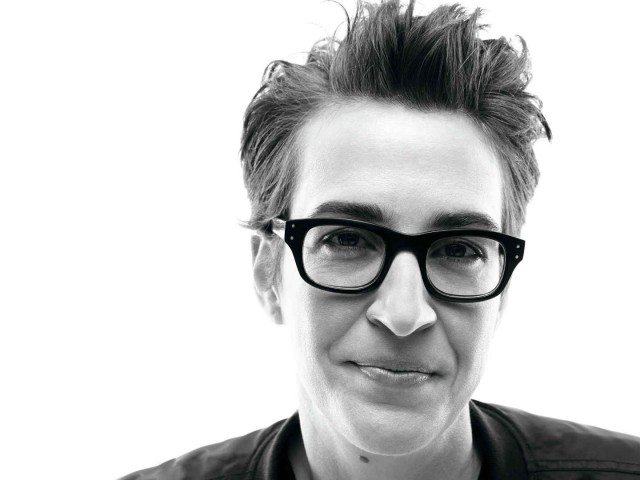 rachel maddow by amy troost for playboy
