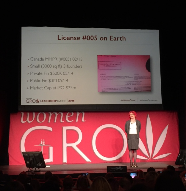 Renee Gagnon, on being the first woman and trans* person to take a cannabis company public.