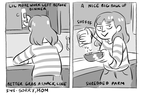 Comic by Carey Pietsch.