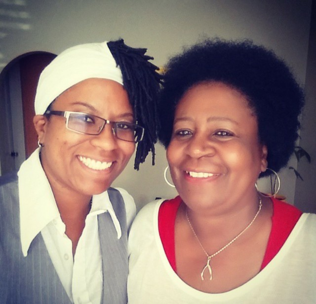 My mother and I