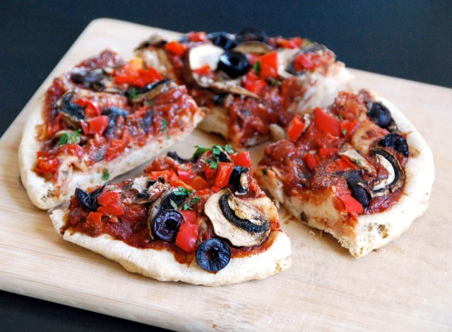 Personal Pan Pita Pizza