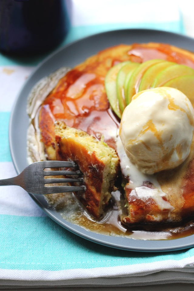 Single Lady Apple Pancake