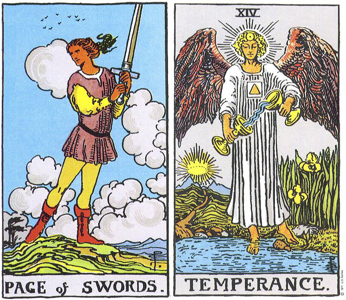 From the Rider-Waite-Smith Tarot