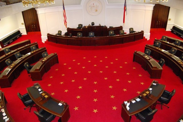North Carolina General Assembly Senate Chamber