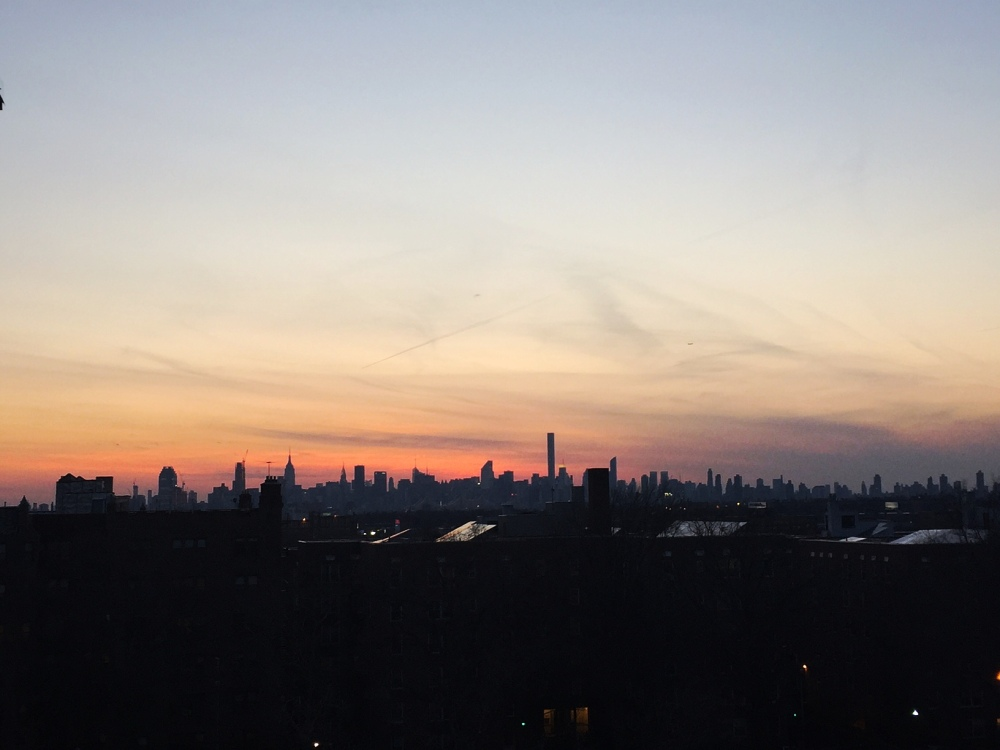 When I first moved to New York, I kept to myself. In tennessee I was an anomaly, and NY gave me my first taste of anonymity. Instead of friendships, I had this view of the city from my fire escape. I told the empire state building about my day. When it's warm, I sit out here. It never gets old.