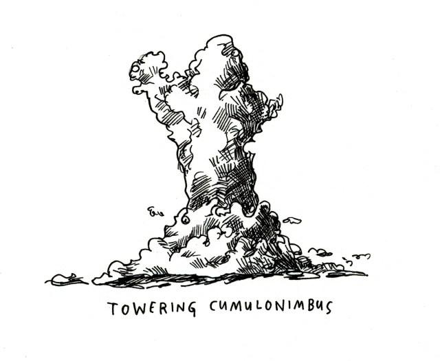 Art 29 - Towering cumulonimbus