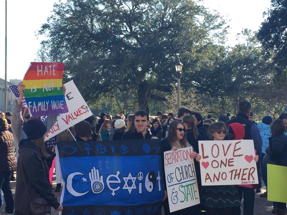 There's lots of work to be done to better the lives of Louisiana's LGBT population. Photo from Equality Louisiana.