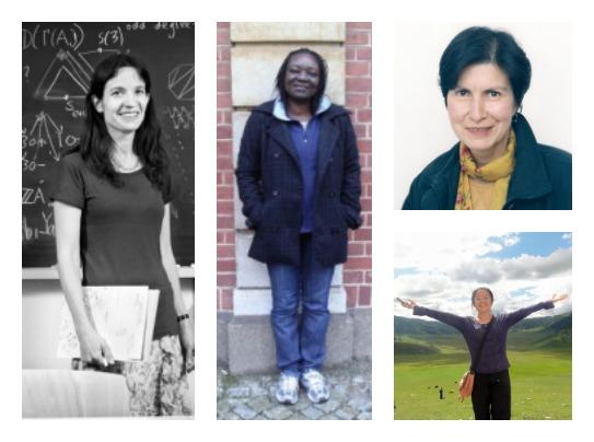 Women mathematicians around the world, via European Women in Mathematics.
