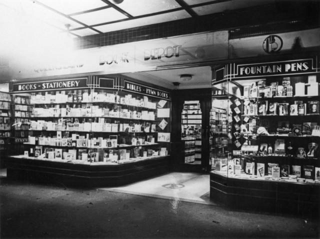Queensland Book Depot c 1940 via comphotosstatelibrary