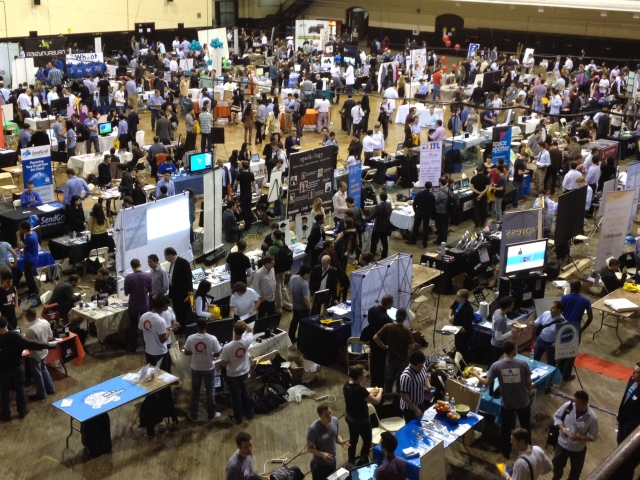 This is what Tech Day looks like, via Forbes.