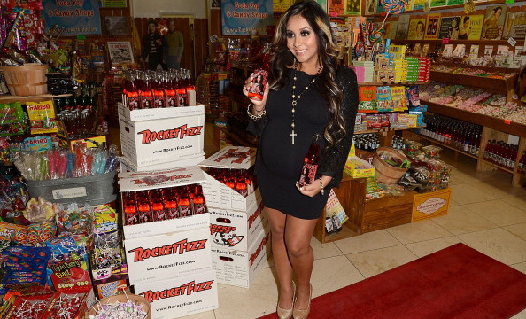 Yes, Snooki soda is a very real thing.