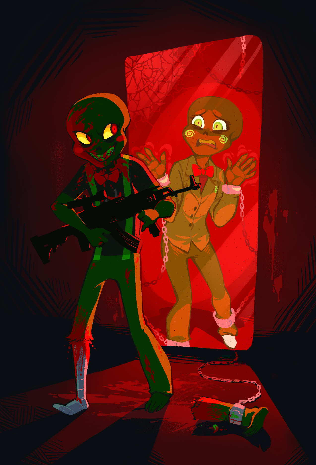 Caliborn and Calliope by xamag