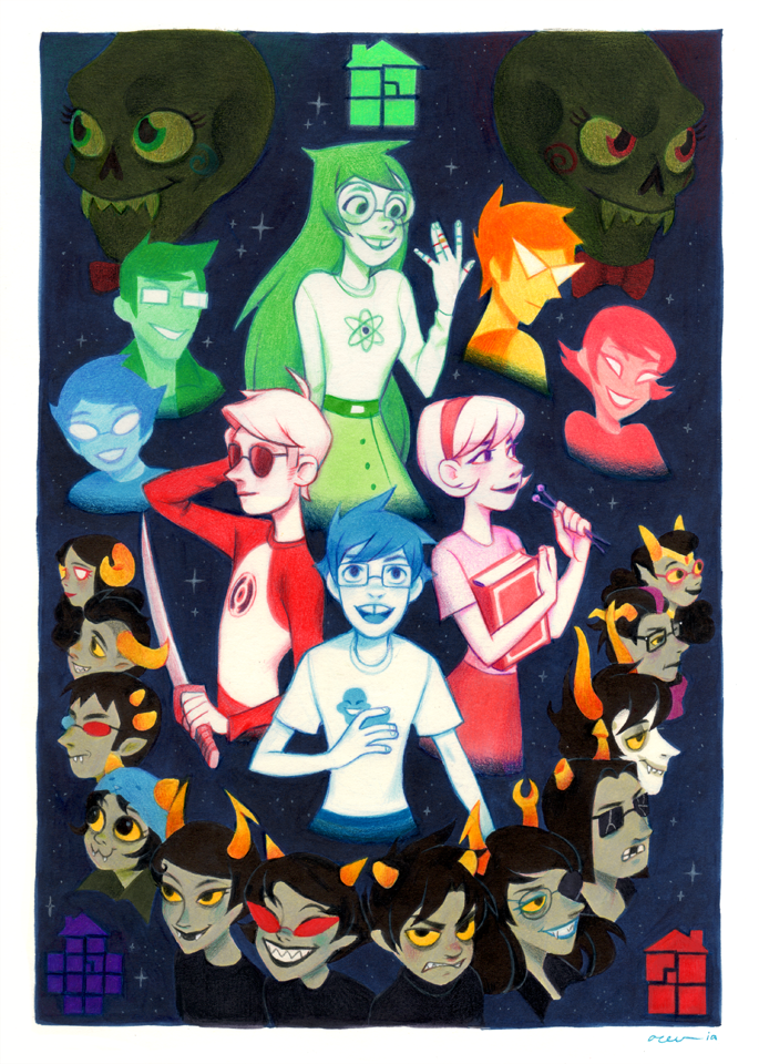 Homestuck Cast by Izzy Abreu