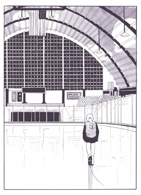 From Tillie Walden's upcoming memoir Spinning.