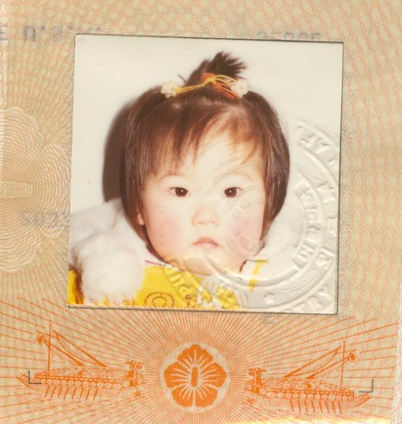 Photo from my naturalization papers