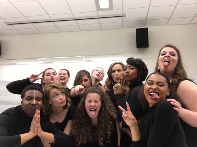 My IRL singing friends