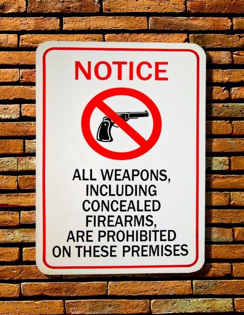 gun control method: Dangerous Uses