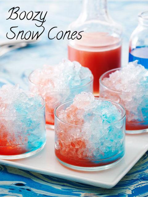 snow-cones