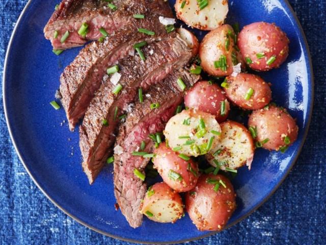 steak-potatoes