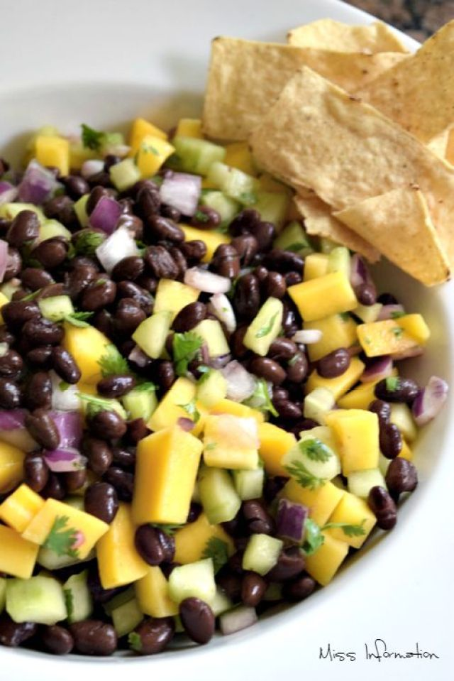 mango black bean