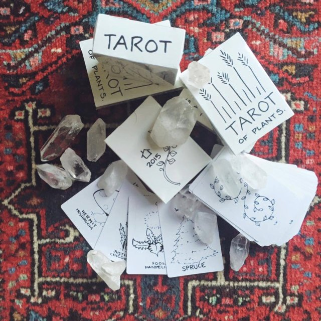 tarot of plants