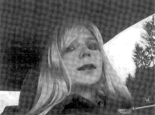 "U.S. Army Private First Class Bradley Manning, the U.S. soldier convicted of giving classified state documents to WikiLeaks, is pictured dressed as a woman in this 2010 photograph obtained on August 14, 2013. Lawyers for Manning sought to show during a sentencing hearing on Tuesday that the Army ignored his mental health problems and bizarre behavior. Manning's violent outbursts and his emailing a supervisor this photo of himself in a dress and blond wig with the caption ""This is my problem"" were signs the gay soldier should not have a job as an intelligence analyst, defense attorney David Coombs told the court-martial. REUTERS/U.S. Army/Handout (UNITED STATES - Tags: POLITICS MILITARY CRIME LAW TPX IMAGES OF THE DAY)  ATTENTION EDITORS – THIS IMAGE WAS PROVIDED BY A THIRD PARTY. FOR EDITORIAL USE ONLY. NOT FOR SALE FOR MARKETING OR ADVERTISING CAMPAIGNS. THIS PICTURE IS DISTRIBUTED EXACTLY AS RECEIVED BY REUTERS, AS A SERVICE TO CLIENTS - RTX12LI7"