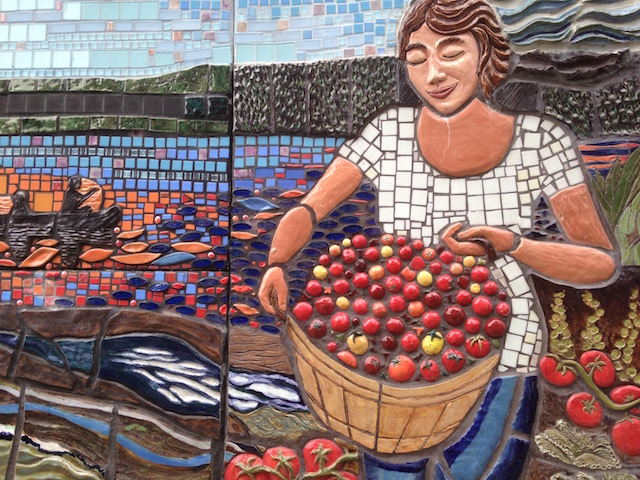 Mosaic by Annmarie Zack, Ithaca NY (2)